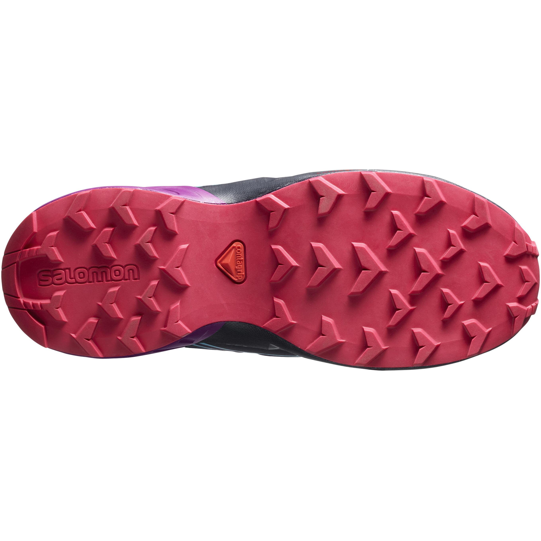 1ab4f2a26524 Salomon Junior Speedcross CSWP Shoes Grape Juice Evening Blue Blue Bird
